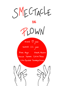 SMECTACLE DE PLOWN